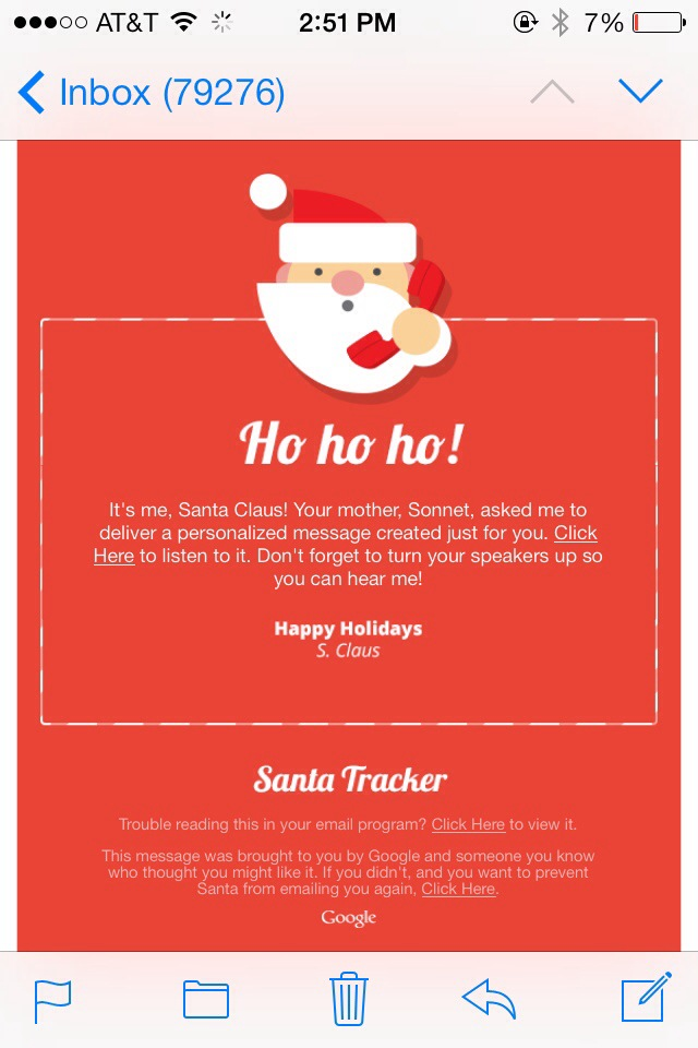 Receive A Free Letter From Santa In The Mail