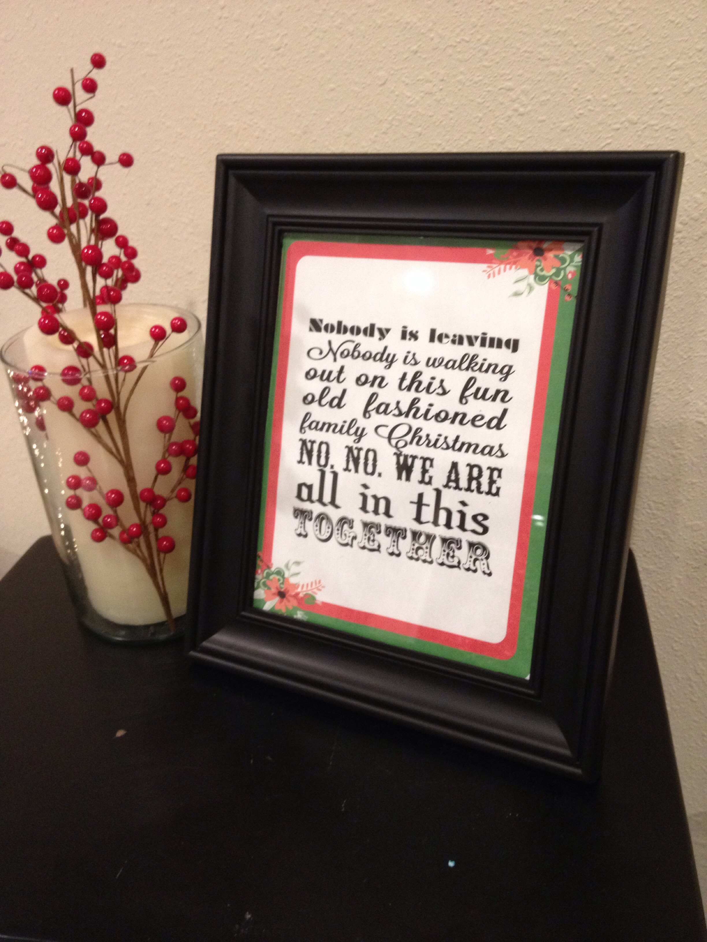 National Lampoons Christmas Vacation Free Printables Sohosonnet