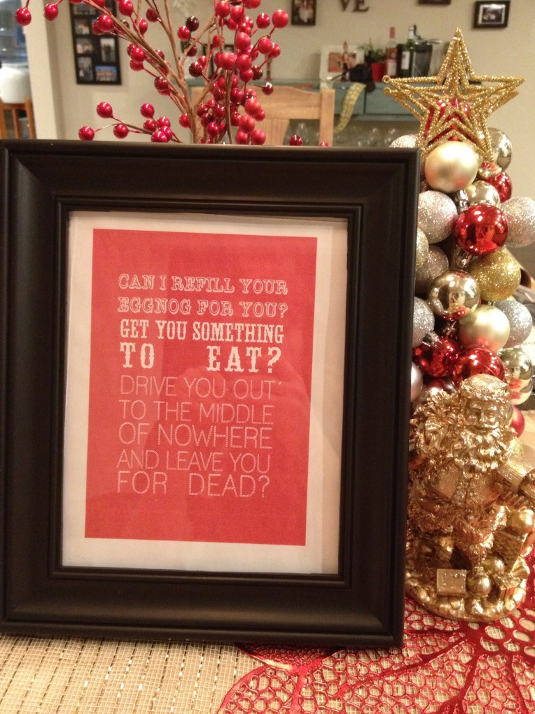 National Lampoon's Christmas Vacation Free Printables