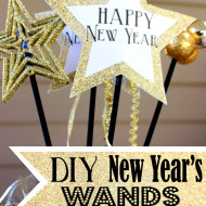 New Year's Eve Wands and Noisemakers for Kids