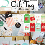 5 Free Printable Christmas Gift Tags