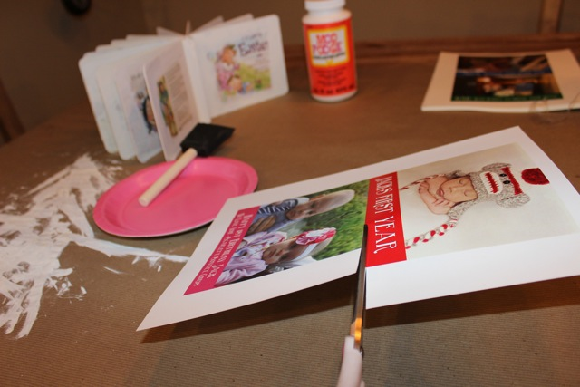 DIY Picture Board Book