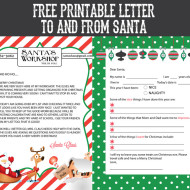 Free printable letter to and from santa sohosonnet creative living spiritdancerdesigns Choice Image