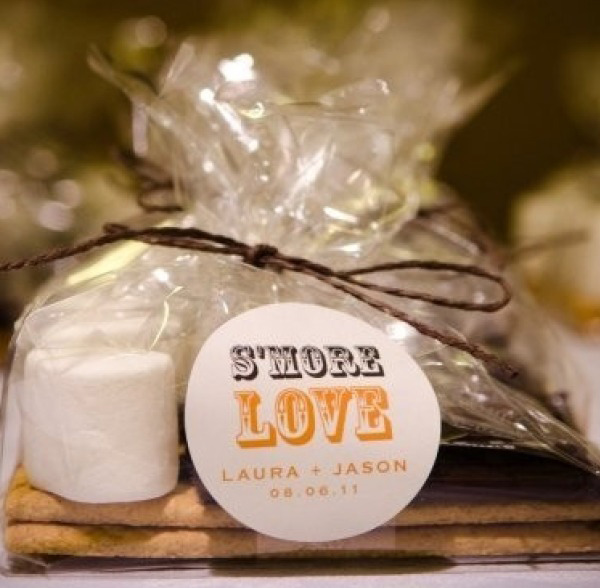 SMORES DIY WEDDING FAVORS UNDER 1$ {SohoSonnet Creative Living}