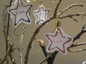 New Year Wishing Tree