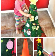 Felt Christmas Tree for Toddlers