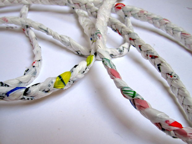 plastic Bag ropes