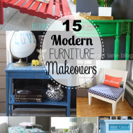 15 Modern Furniture Makeovers
