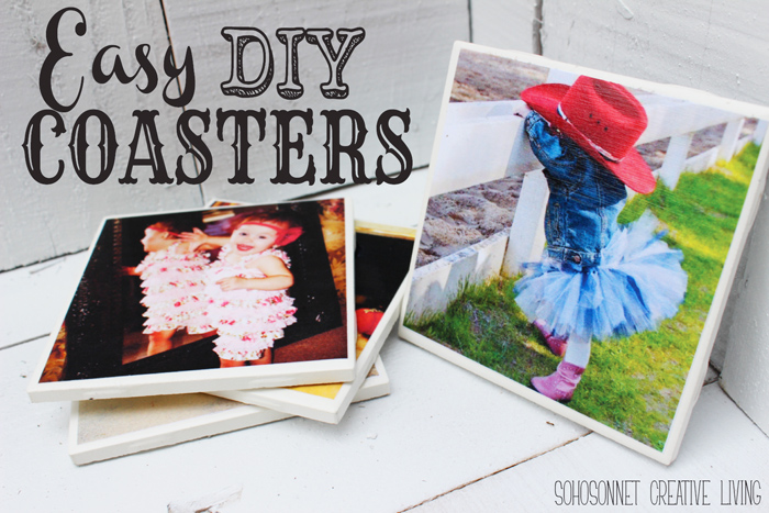 Easy DIY Tile Coasters