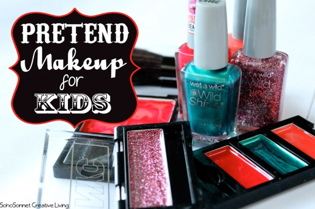 DIY PRETEND MAKEUP FOR KIDS