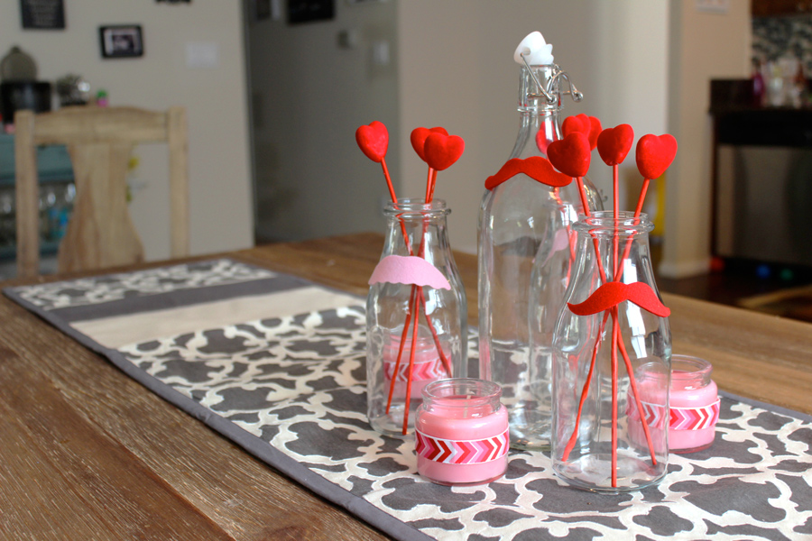 Easy Valentines Day Decorations - SohoSonnet Creative Living