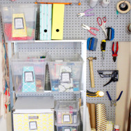 Project Get Organized – Garage Craft Space