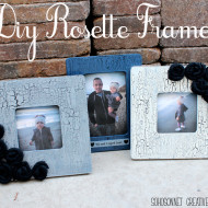 DIY Antique Rustic Picture Frames for $1