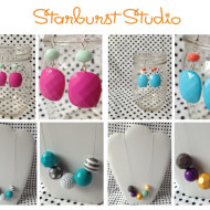 I Finally Won A Giveaway!! Starburst Studio Earrings