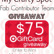 My Crafty Spot Contributors $75 Giveaway!