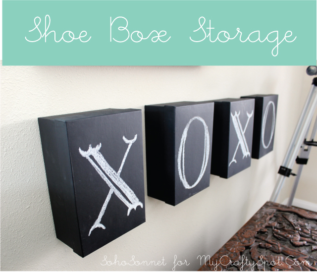 Memory Box Storage + Artwork {Contributor Post}