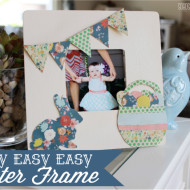 Easy $1 DIY Easter Frame