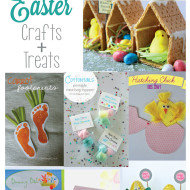 30 Easter Crafts + Desserts {Round up from Link it Or Lump it Party}