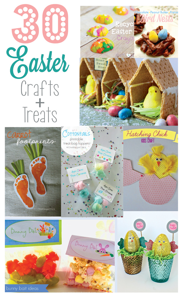 30 Easter Crafts and Desserts - SohoSonnet Creative Living
