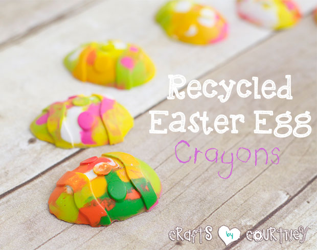 Easter Egg Crayons