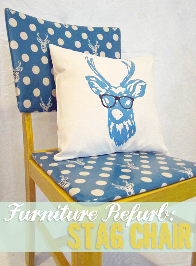 vintage furniture makeover