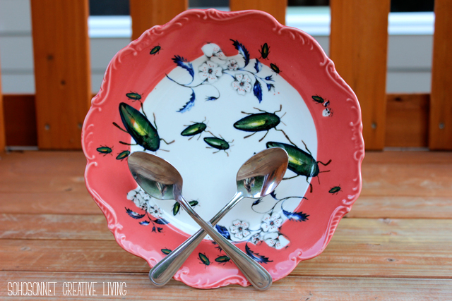 Spoon Plate Stand Anthropologie Knock Off - SohoSonnet Creative Living