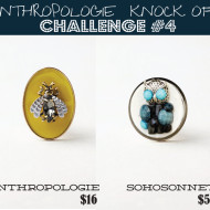 Anthropologie Challenge {Day #4} – DIY Owl Dresser Pull Knob