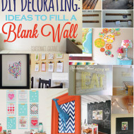 20 Ideas to Decorate a Blank Wall