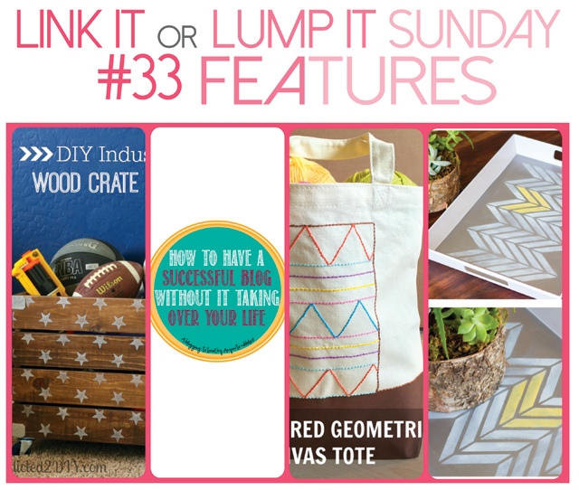 Link It Or Lump It Link Party #33