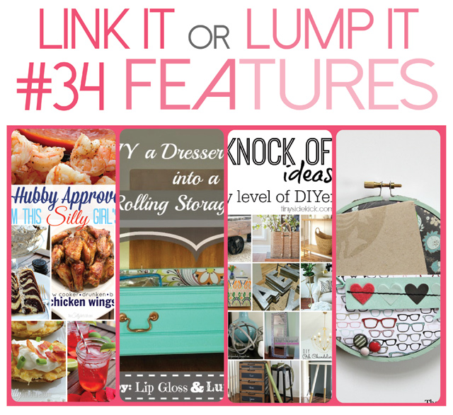 Link It Or Lump It Link Party #34