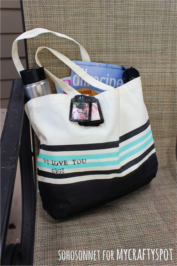 DIY Tote Mothers day gift
