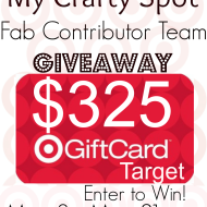 My Crafty Spot Contributor $325 Giveaway!