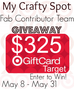 My crafty spot Giveaway