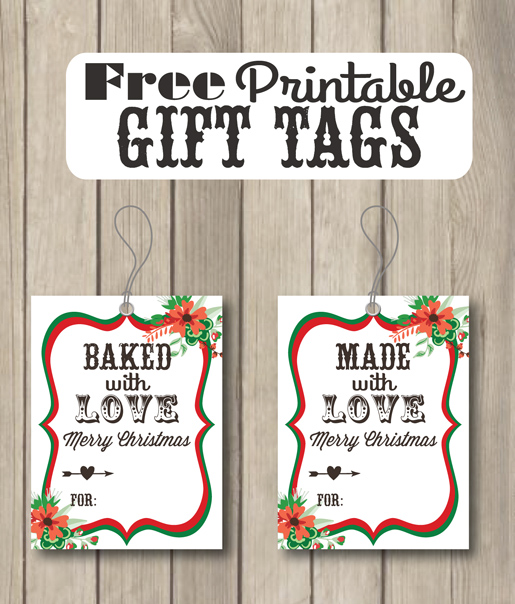 baked with love free printable gift tags sohosonnet creative living. Black Bedroom Furniture Sets. Home Design Ideas