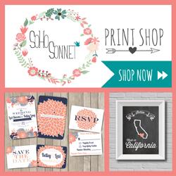 SOHOSonnet Print Shop Button