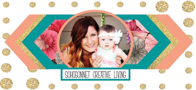 SohoSonnet Creative Living Header