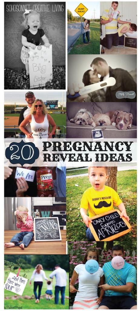 20 Pregnancy Reveal Announcement Ideas Sohosonnet