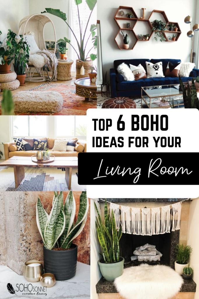 Boho Decor Ideas For Your Living Room